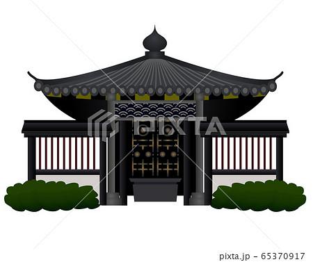 宮城建物4 瑞鳳殿ベクターイラストアイコン 65370917