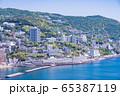 (静岡県)熱海のホテル街 65387119