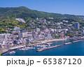 (静岡県)熱海のホテル街 65387120
