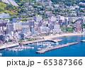 (静岡県)熱海のホテル街 65387366