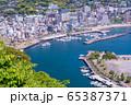 (静岡県)熱海のホテル街 65387371