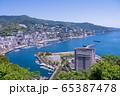 (静岡県)熱海のホテル街 65387478