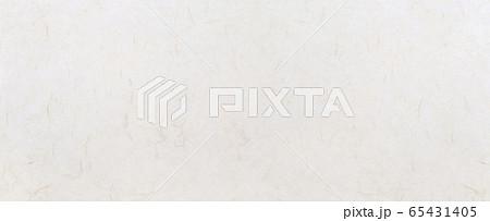繊維が見える和紙(背景素材) 65431405