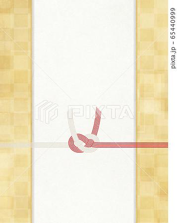 和風素材 金箔-和紙-水引-和柄-背景-のし紙-ご祝儀 65440999