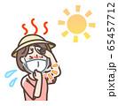 マスク 熱中症 女性 65457712