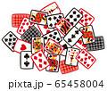 トランプカード(シャッフル) 65458004