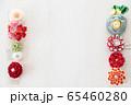 つまみ細工の簪 背景用 65460280