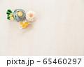 つまみ細工の簪 背景用 65460297