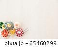 つまみ細工の簪 背景用 65460299