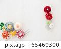 つまみ細工の簪 背景用 65460300
