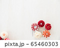 つまみ細工の簪 背景用 65460303