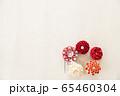つまみ細工の簪 背景用 65460304