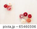 つまみ細工の簪 背景用 65460306