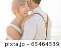 ロマンチックなリゾートウェディング 65464539