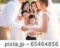 ロマンチックなリゾートウェディング 65464856