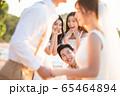 ロマンチックなリゾートウェディング 65464894