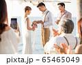 ロマンチックなリゾートウェディング 65465049
