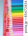 色鉛筆 (えんぴつ 文房具 趣味 アート 教育 芸術 知育 学習 グラデーション コピースペース) 65472834