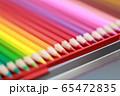 色鉛筆 (えんぴつ 文房具 趣味 アート 教育 芸術 知育 学習 グラデーション コピースペース) 65472835