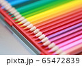 色鉛筆 (えんぴつ 文房具 趣味 アート 教育 芸術 知育 学習 グラデーション コピースペース) 65472839