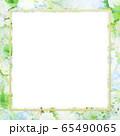 背景-フレーム-花柄 65490065