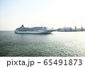 飛鳥2 神戸港入港 65491873