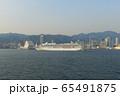 飛鳥2 神戸港入港 65491875