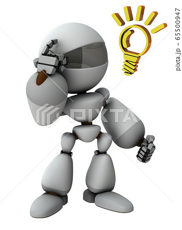 高性能な人工知能のロボット 65500947