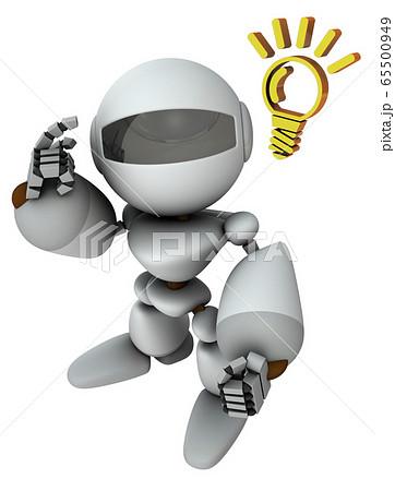 高性能な人工知能のロボット 65500949