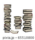 3d Stack of books 65510800