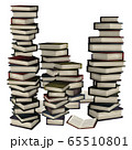3d Stack of books 65510801