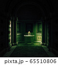 3d rendered crypt interior 65510806