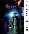 3d Crypt in the space 65510807