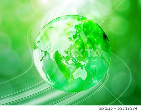 新緑(背景素材) 65513574