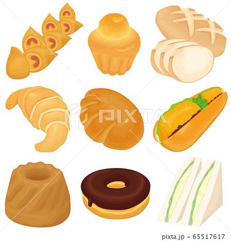 いろいろなパン 65517617