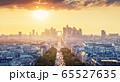 Paris view from Arc de Trimphe, France 65527635