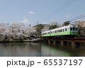 春のローカル線 65537197
