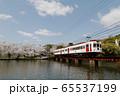 春のローカル線 65537199