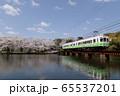 春のローカル線 65537201