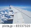 飛行機から見る風景 65537320