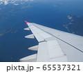 飛行機から見る風景 65537321