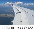 飛行機から見る風景 65537322