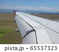 飛行機から見る風景 65537323