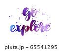 Go explore handwritten lettering 65541295