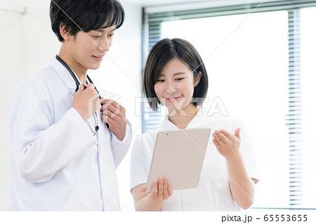 医療イメージ 男女 65553655