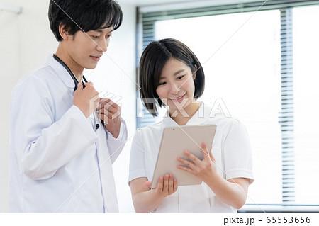 医療イメージ 男女 65553656