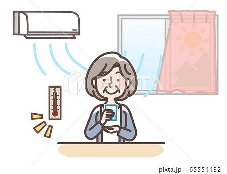 熱中症 対策 おばあさん 65554432