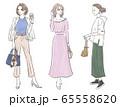 ファッション 女性 全身 セット 65558620