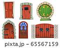 Doors Cartoon Set 65567159
