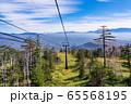 (長野県)御岳ロープウェイ 眼下の景色 65568195